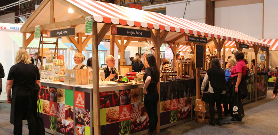 Expo Stands Nz : Healthy eating on the menu at food show