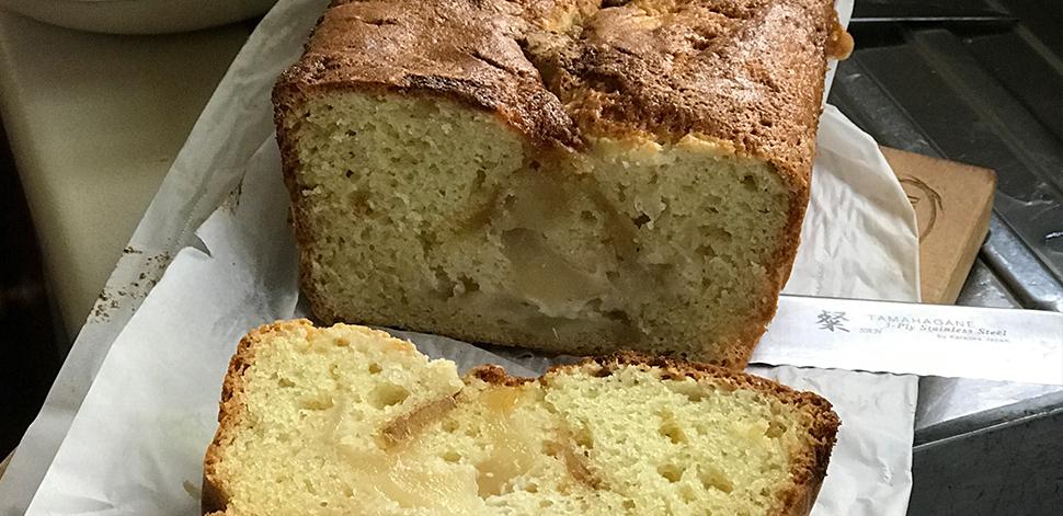 Loaf Cake Recipes Nz: Super Pear & Ginger Loaf