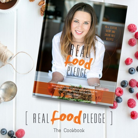 Real Food Pledge by Caralee Caldwell