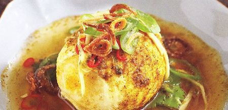 Deep-Fried Egg with Lime Chilli…