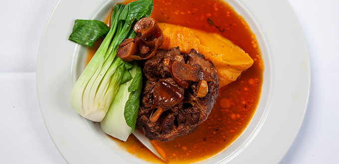 Braised Oxtails with Star Anise
