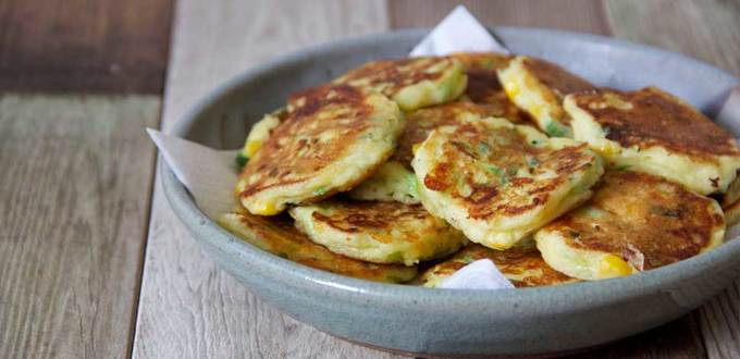 Vegetable Fritters (Little & Loved)