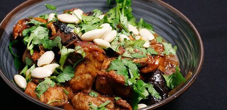 Chicken Preserved Lemon and Prune Tagine