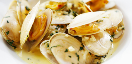 Clams with Cider and Cream