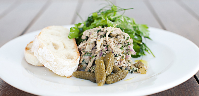 Herb and Pork Rillette