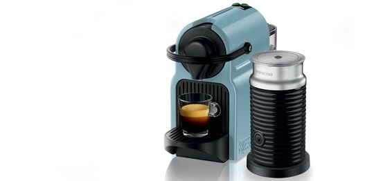 Introducing Nespresso Inissia: playful colours, unique pleasure