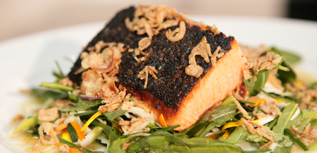 Ora King Salmon with Asian Greens and…