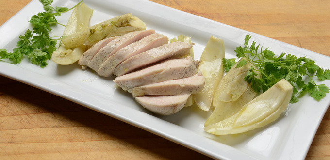 Chicken Poached in Tarragon Olive Oil &…