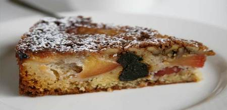 Danish Plum Prune Cake