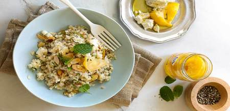Preserved Lemon & Feta Couscous