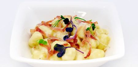Potato Gnocchi with Jamon Serrano