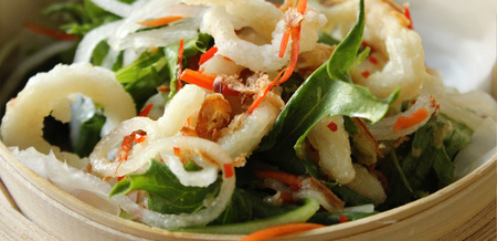Thai Salad with Deep-fried Squid