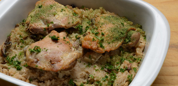 Lazy Chicken & Rice