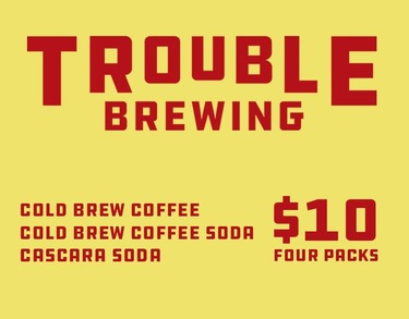 4 Pack of Cold Brews $10