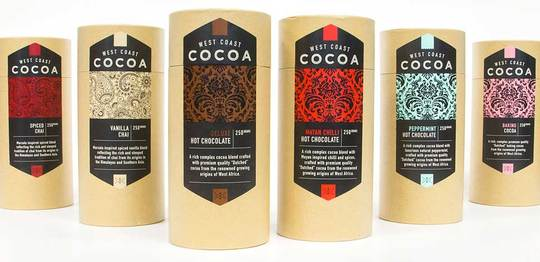 New exhibitor at The Wellington Food Show: West Coast Cocoa Merchants
