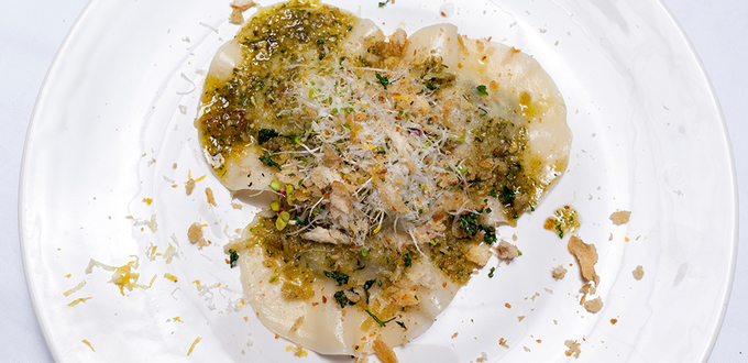 Chicken, Ricotta & Pesto Ravioli