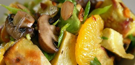 Ginger, Orange, Mushroom and Kumara…