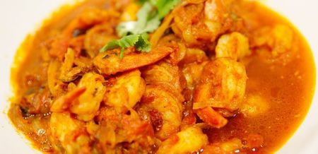 Prawn, Ginger and Onion Curry