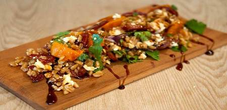 Farro & Roast Pumpkin Salad