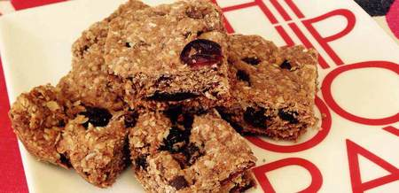 Oaty Fruity Slice