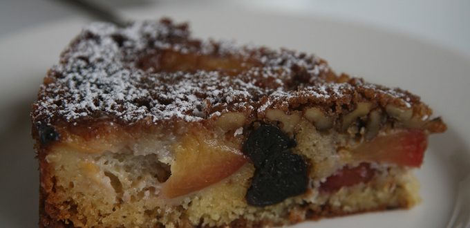 Scandinavian Prune and Plum Cake