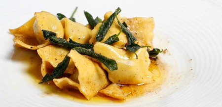 Chicken and Sage Plin Ravioli