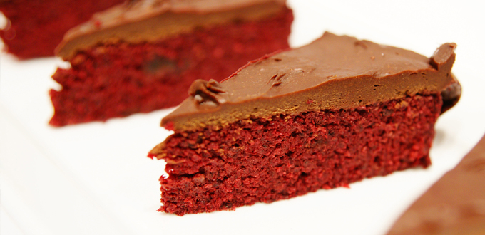 Beetroot Chocolate Mud Cake