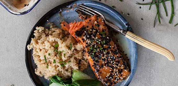 Annabel Langbein's Miso-Glazed Fish