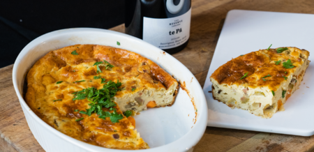 French Goat's Cheese Clafoutis