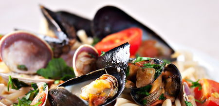 Smoked Marinated Mussels