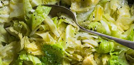 Buttery Garlic Cabbage