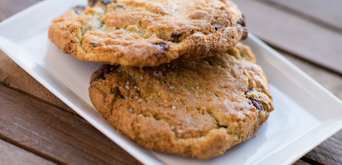 Caputo's Sea Salt Chocolate Chip Cookies