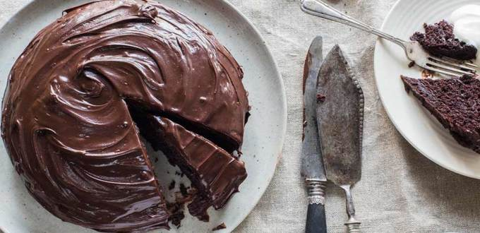 Crazy Italian Chocolate Cake (egg-free chocolate cake)