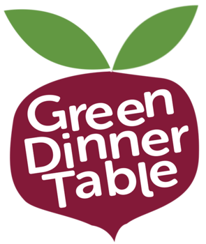 Green Dinner Table