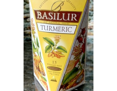 Basilur Tea Turmeric with Ginger Packet $10 each ONLY