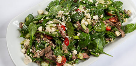 Greek-style Lamb Salad