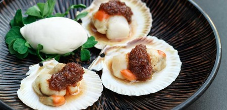 Grilled Scallops with Sweet Chilli Sauce…