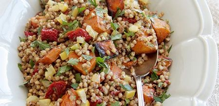 Warm Buckwheat and Roast Pumpkin Salad
