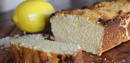 Paleo Coconut and Lemon Bread