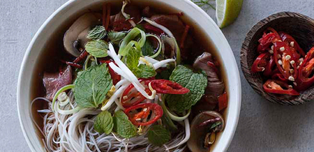 Annabel Langbein's Beef Pho