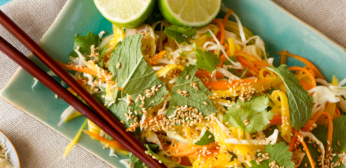 Pickled Green Mango Salad