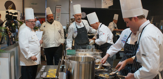 Top Chefs turning up the heat at NZChefs National Salon