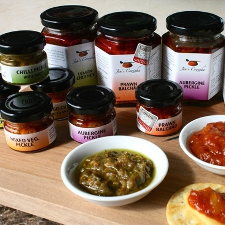 Jen 39 s cozinha artisan pickles chutneys for Artisan cuisine of india